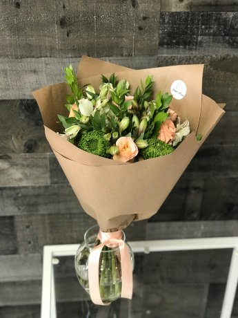 Pomponia Hand-Tied Bouquet