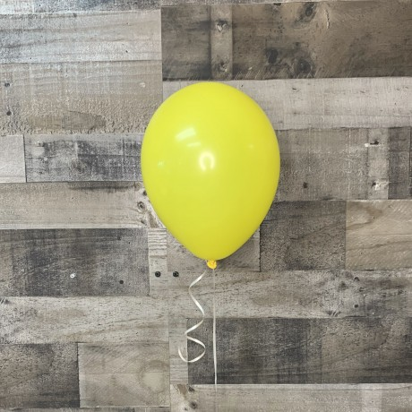 Yellow Latex Balloon 11""