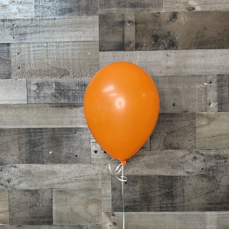 Orange Latex Balloon 11""
