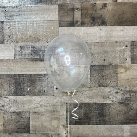 Clear Latex Balloon 11""