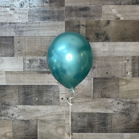 Metallic Green Latex Balloon 11""