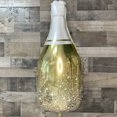 Jumbo Champagne Bottle Foil Balloon 34""