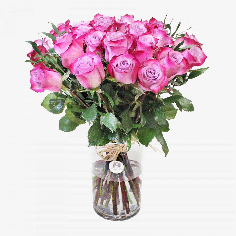 30 Purple Roses Bouquet