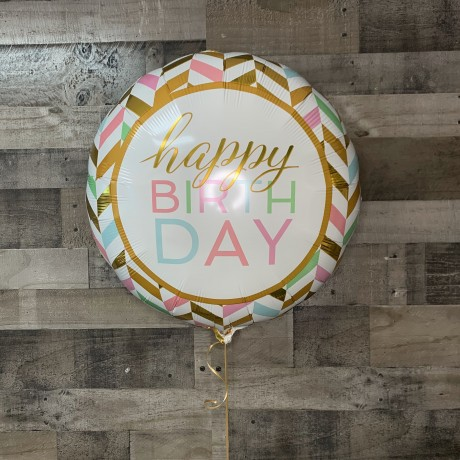 Jumbo Happy Birthday Foil Balloon 30""