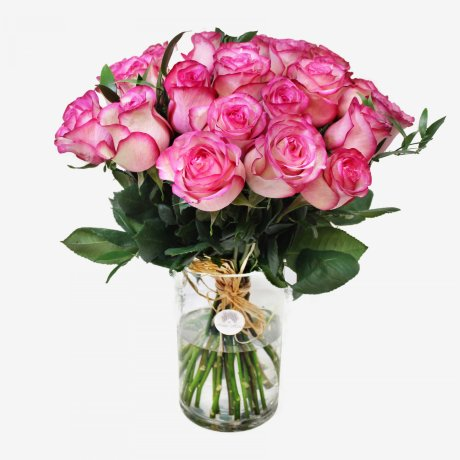 30 Light Pink Roses Bouquet