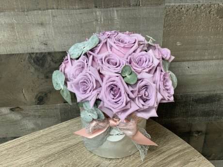 Purple Madelynn Vase