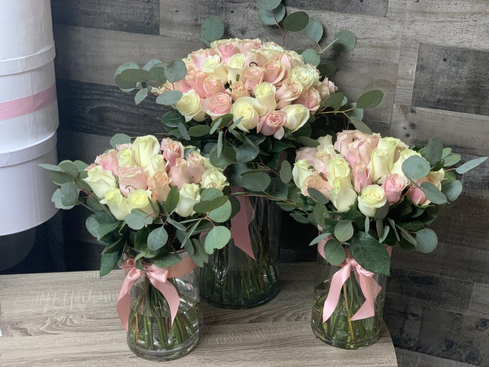 Milani Rose | Set of 3 Arrangements