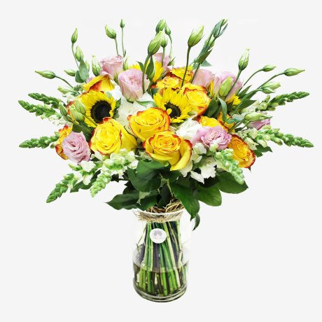 Yellow Fever Flower Bouquet
