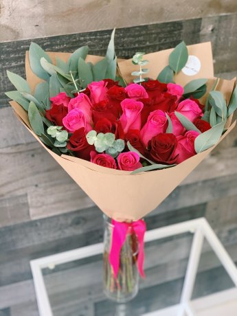 30 Roses Hand-tied Bouquet