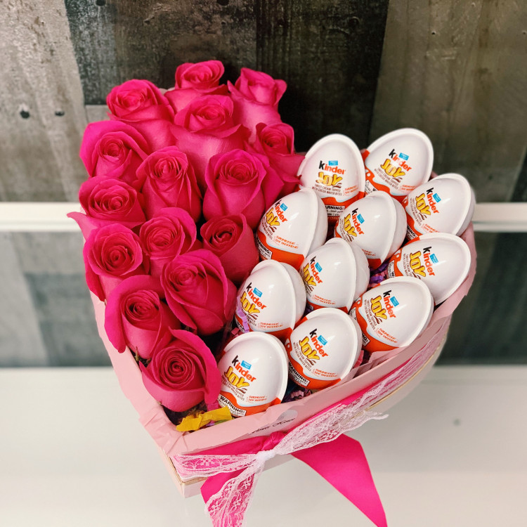 Kinder Joy Flower Box